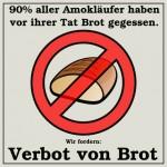 Verbot von Brot